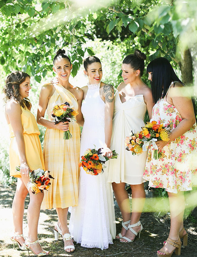 14 Bridemaids hair styles to steal from real weddings